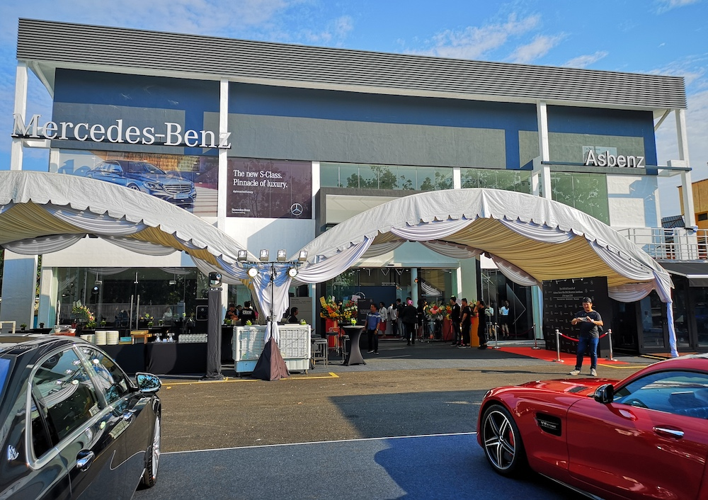 KUANTAN: Mercedes Benz Malaysia And Its Dealer Partner, Asbenz Stern Sdn  Bhd, Have Launched The Mercedes Benz Asbenz Stern Kuantan Autohaus Here To  ...