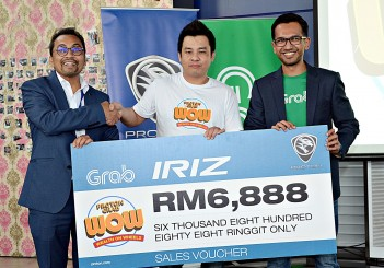 PROTON Wealth on Wheels with Grab - 03 Iriz