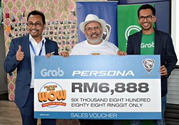 PROTON Wealth on Wheels with Grab - 05 Persona