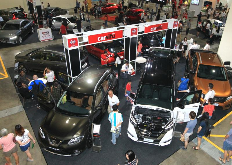 CarSifu Auto Show Continues To Pull In People On Day CarSifu - Exhibition car