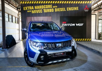 2017 Mitsubishi Triton VGT Adventure X (Custom)
