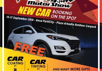 Velocity Motor Show 2018 - 06 New Car Booking