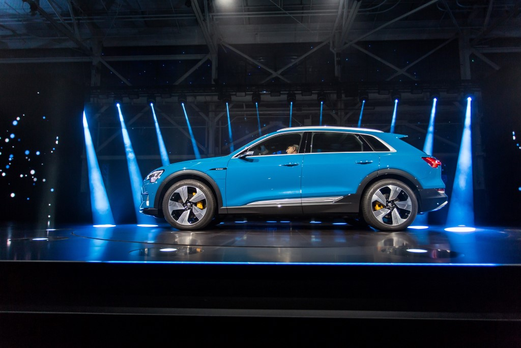 The Charge - world premiere of the Audi e-tron in San Francisco
