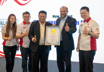 Proton received Malaysia Book of Records award