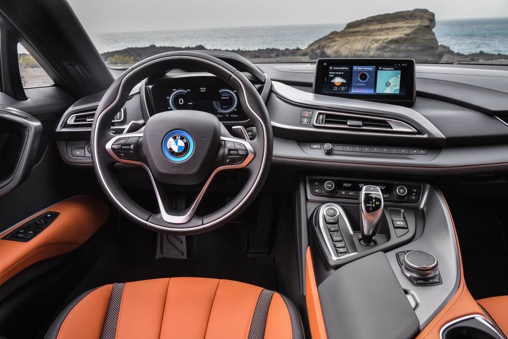 BMW i8 roadster.