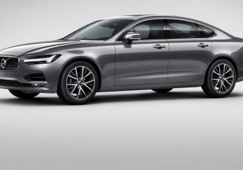 Front Quarter Volvo S90 Osmium Grey