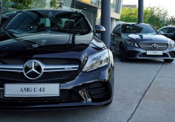 Mercedes-AMG 43 4MATIC with C 300 AMG and  C 200 Avantgarde