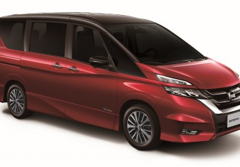 Nissan Serena S-Hybrid PHWS (Imperial Red)