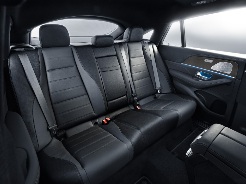 Mercedes-Benz GLE Coupé 2019, mojavesilber, Leder magmagrau / schwarz, Studio Mercedes-Benz GLE Coupé 2019, moyave silver, leather magma grey / black, studio
