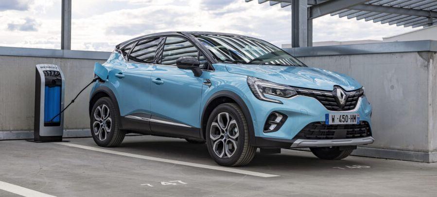 Renault Captur plug-in hybrid.