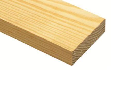 2 in x 4 in x 8 ft Yellow Pine Lumber