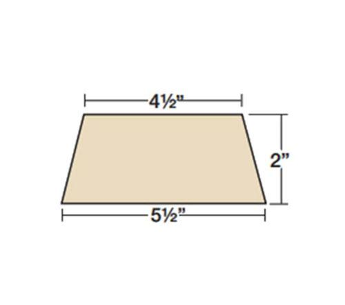 2 in x 4 1/2 in x 5 1/2 in x 36 in Owens Corning Thermafiber TopStop TSZ-2 Head-of-Wall Insulation