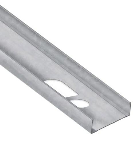 10 in x 12 ft x 14 Gauge 68 mil Structural Steel Stud w/ 1 5/8 in Flange