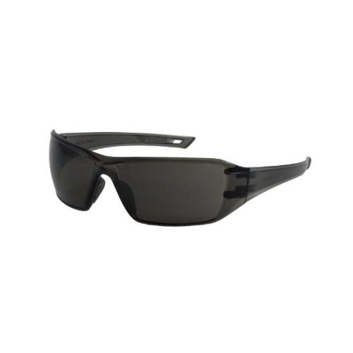 PIP Bouton Optical Captain Rimless Safety Glasses - Gray Temple/Gray Anti-Scratch FogLess 3Sixty Lens