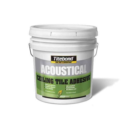 Titebond GREENchoice Acoustical Ceiling Tile Adhesive - 4 Gallon Pail