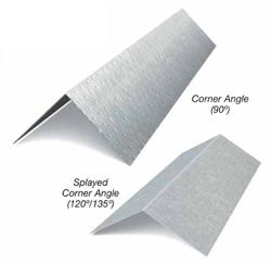 1 1/4 in x 8 1/2 in x 10 ft x 18 Gauge 43 mil Corner Angle