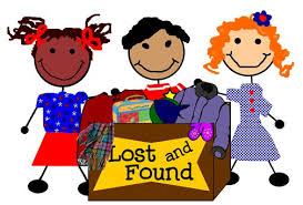 Purple Lost and Found Bin