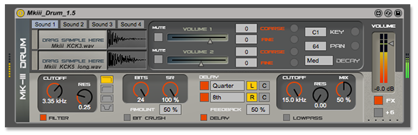 Max for Live Drum Module