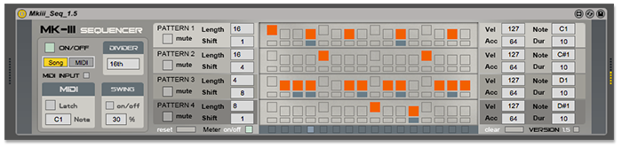Max for Live Sequencer