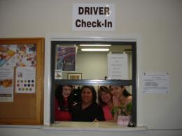 DRIVER CHECK-IN
