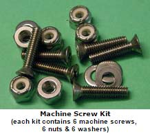 Deckplate Machine Screw Fastener Kits