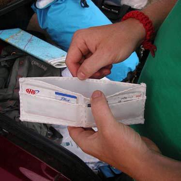 Sailcloth Wallet