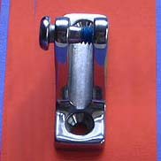 Stainless 90° Mount Deck Hinges