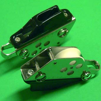 "1/4"" (6mm) Racelite Block/Cleat combination"