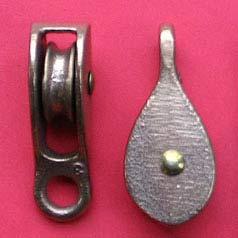 "1/4"" (6mm) Bronze Fast Eye Pulleys"
