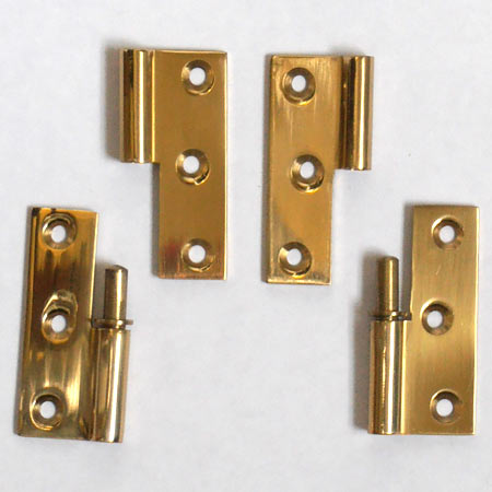 "2"" Cast Brass Take Apart Butt Hinges"