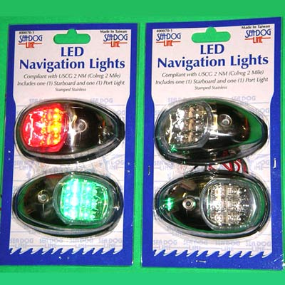Seadog LED Port and Starboard Navigation Lights