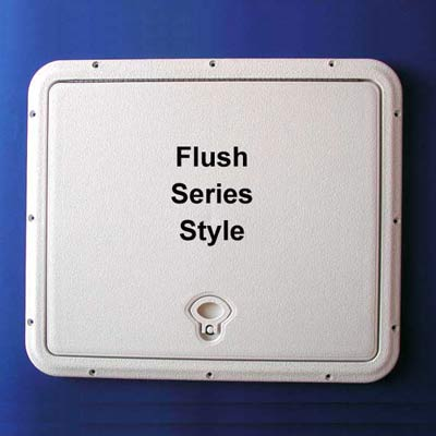 DPI Flush Series Access Doors - Polar White