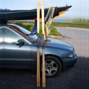Carbon Fiber Ferrules for Greenland Paddles