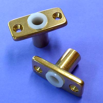 Seadog Premium Brass Top Mount Oarlock Sockets