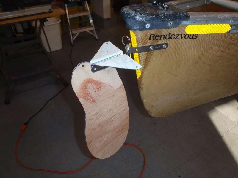 Canoe/Kayak Rudder Gudgeons