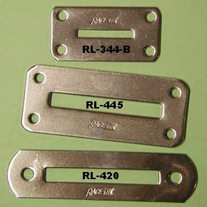 Racelite Chain Plate Covers