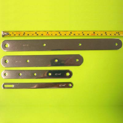 Racelite Stainless Chain Plates