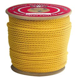 Polypro Three Strand Rope