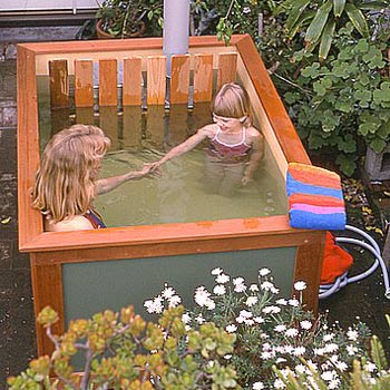 Plywood Hot Tub