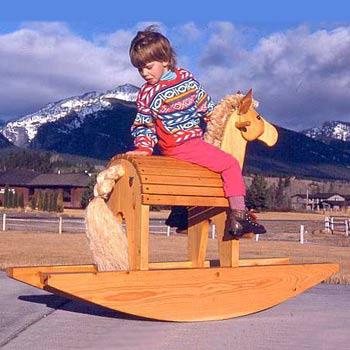 Rocking Horse & Moose Plans
