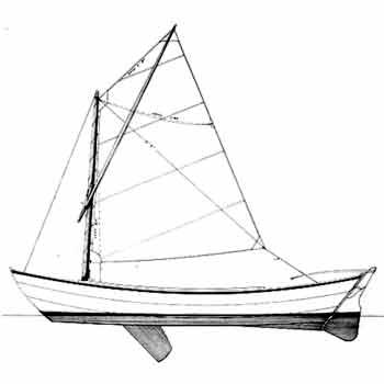 19' Sailing Dory Plans