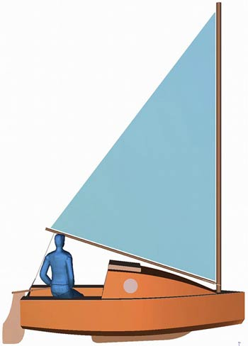 "Naut 350 ""Pico Cruiser"" Plans & Cutting Files"