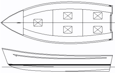 Fishing 20 Workboat Plans