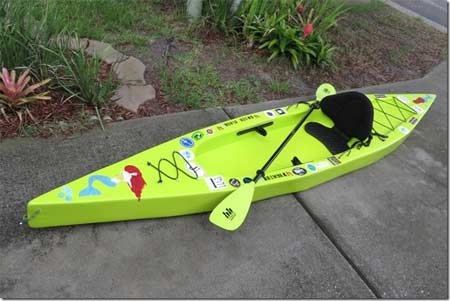 Dave Lucas Foam Kayak Full Size Pattern
