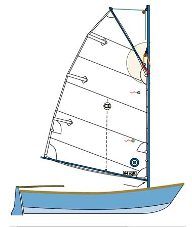 12' Nuthatch Pram Sailing Version