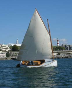 16' River Lapwing Catboat Plans