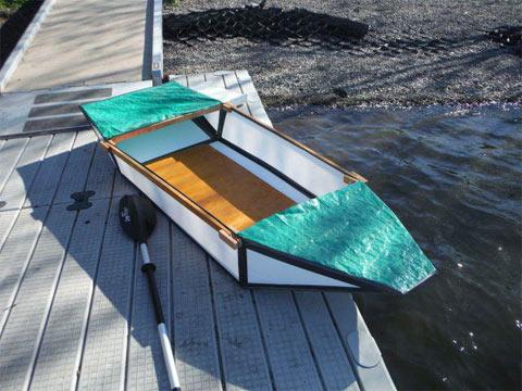 Coroplast Plastic Boat Plans