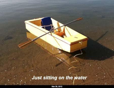 Foam Boat Plans