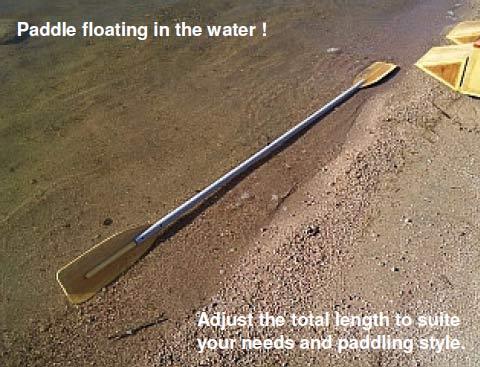 Kayak Style Paddle Plans