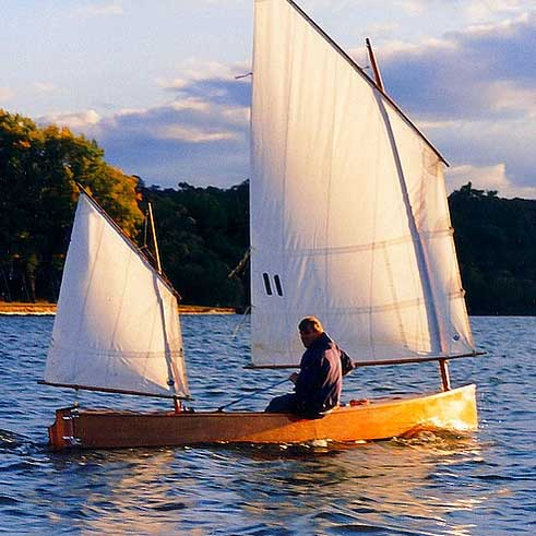 Beth Classic Sailing Canoe Plans